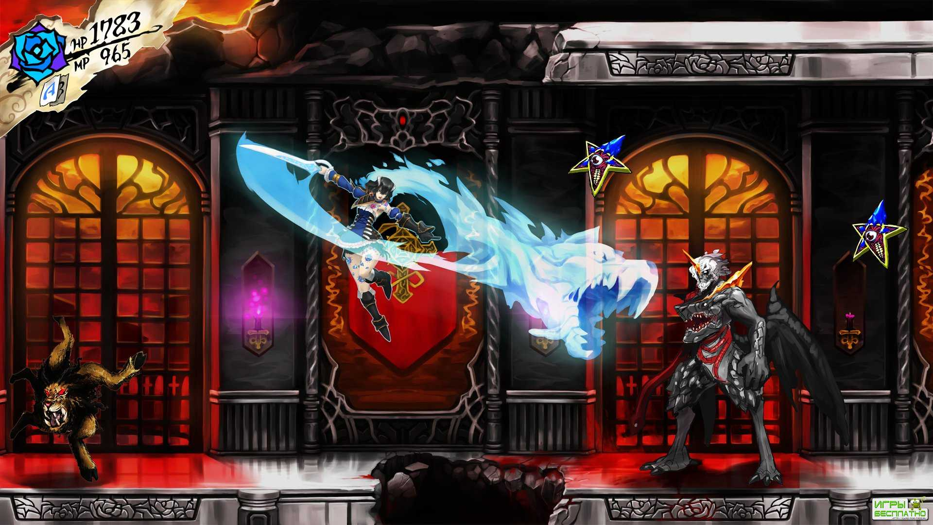 Новый ролик с демонстрацией игрового процесса Bloodstained