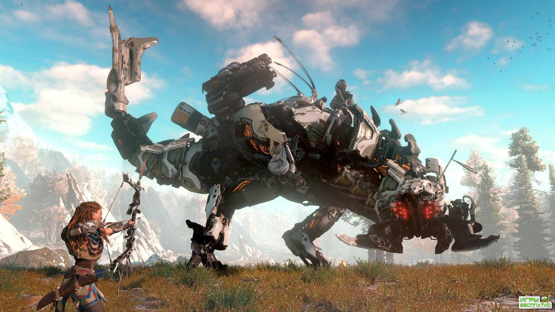 В Horizon: Zero Dawn появился режим New Game+ и новый уровень сложности