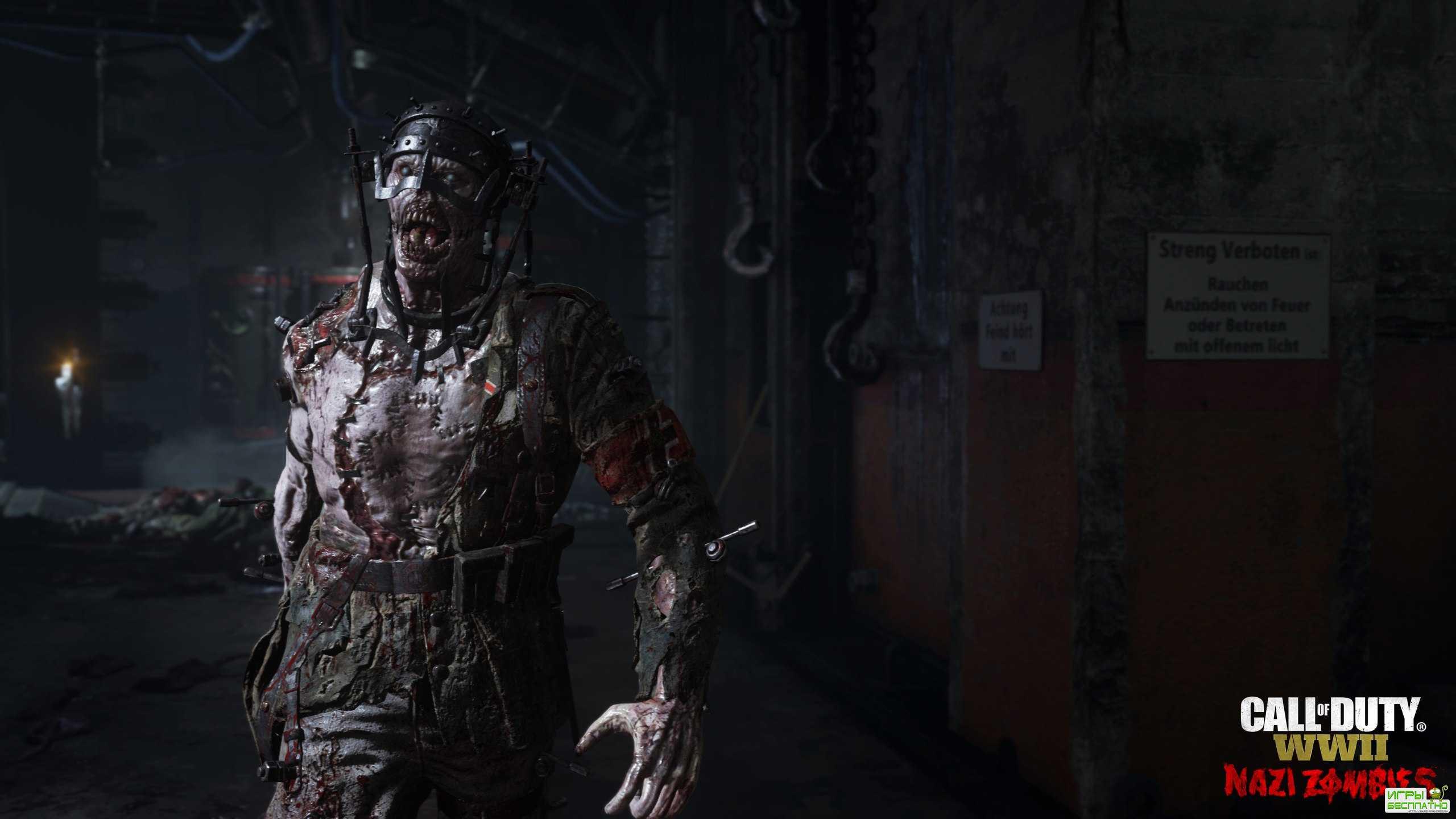 В Call of Duty: WWII будут невероятно страшные зомби