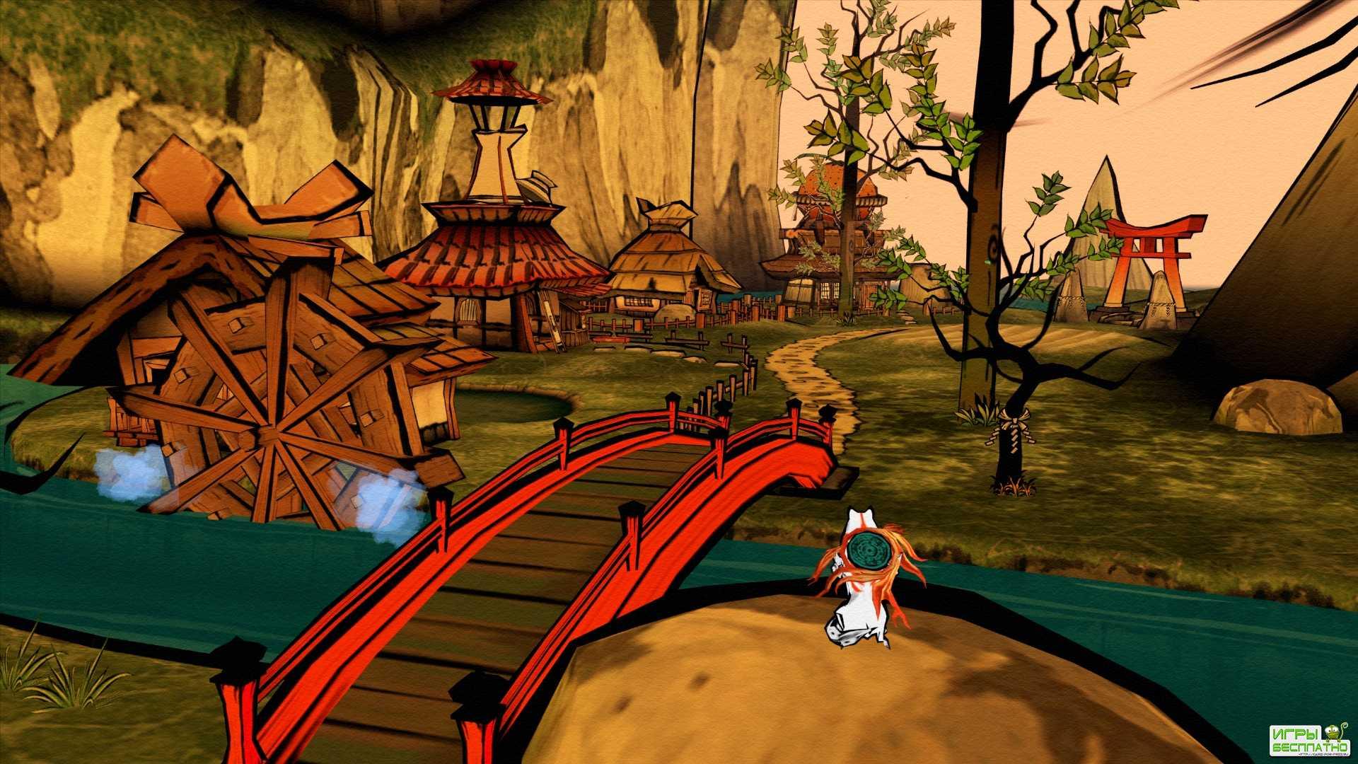 Трейлер переиздания приключенческой игры Okami HD