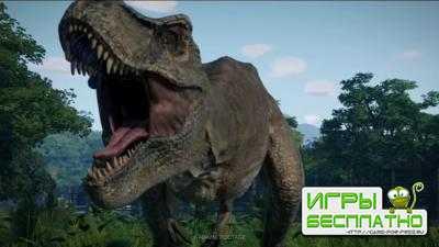 Трейлер Jurassic World Evolution, посвящённый динозаврам