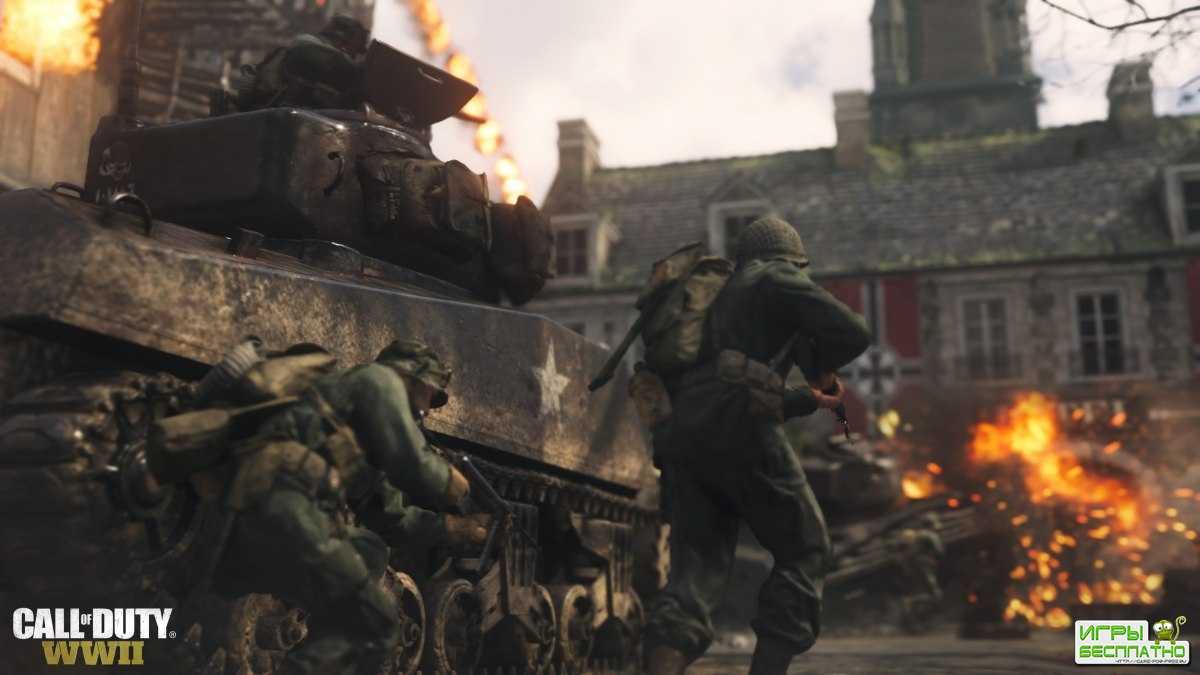 Call of Duty: WWII получила новый режим и карту