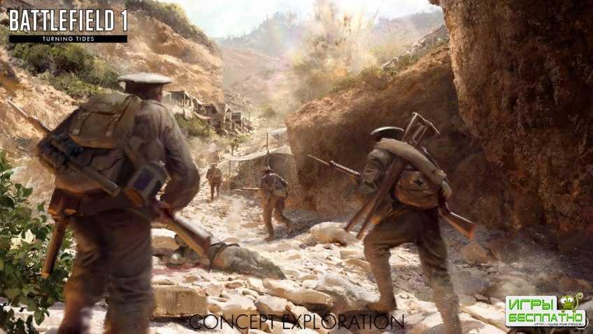 Стала известна дата выхода дополнения «Волны перемен» для Battlefield 1