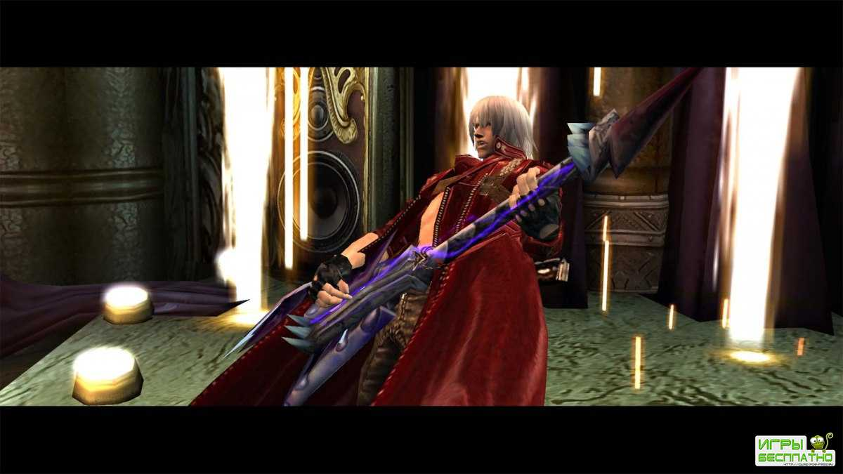 Новый скриншот Devil May Cry HD Collection