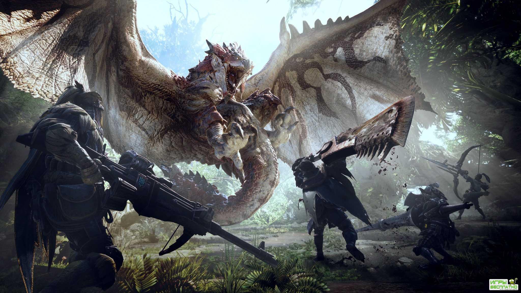 Monster Hunter World получила первую оценку