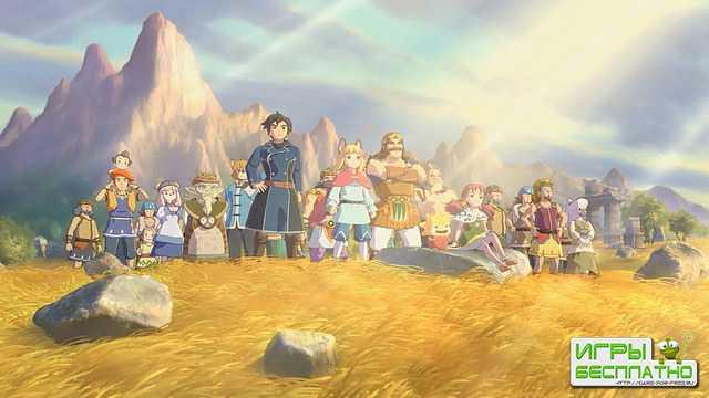 Ролик Ni No Kuni II: Revenant Kingdom, посвящённый персонажам