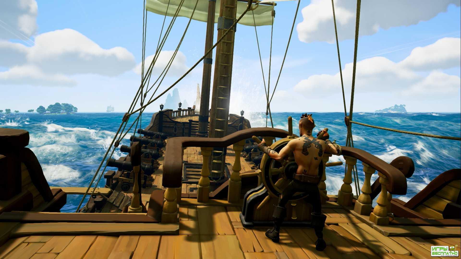 Обзор бета-версии Sea of Thieves