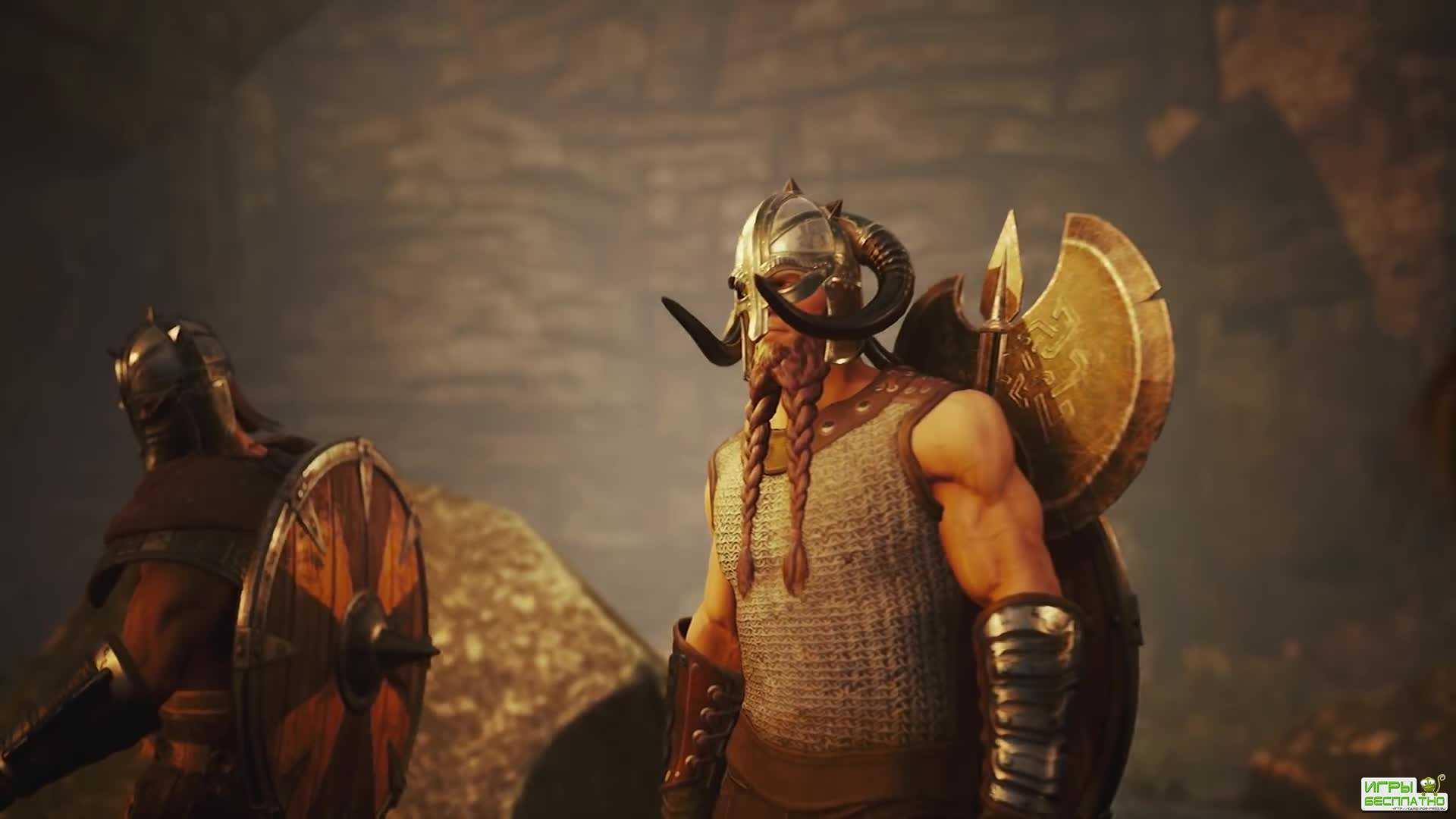Первый тизер боевой системы Rune: Ragnarok