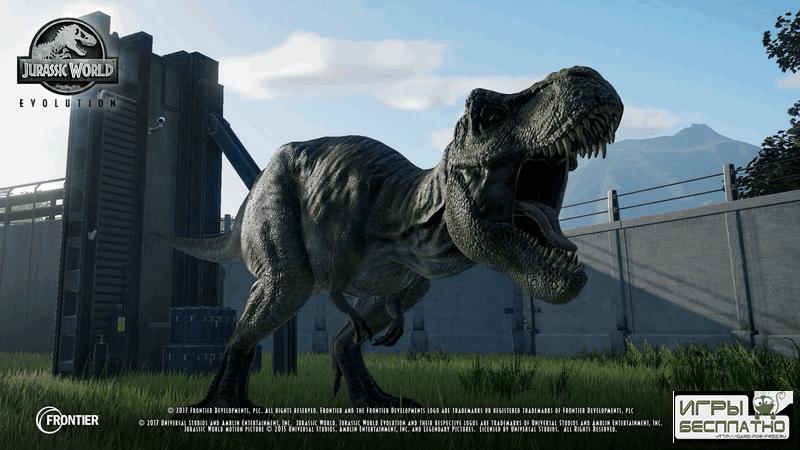 Jurassic World Evolution - опубликован посвященный видам динозавров трейлер