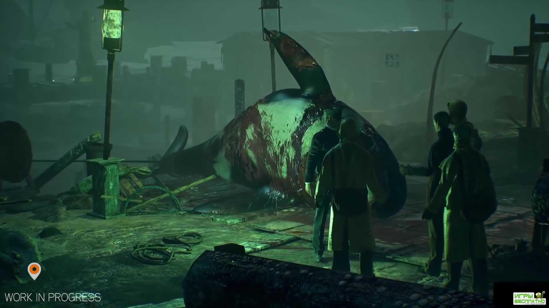 Демонстрация игрового процесса The Sinking City