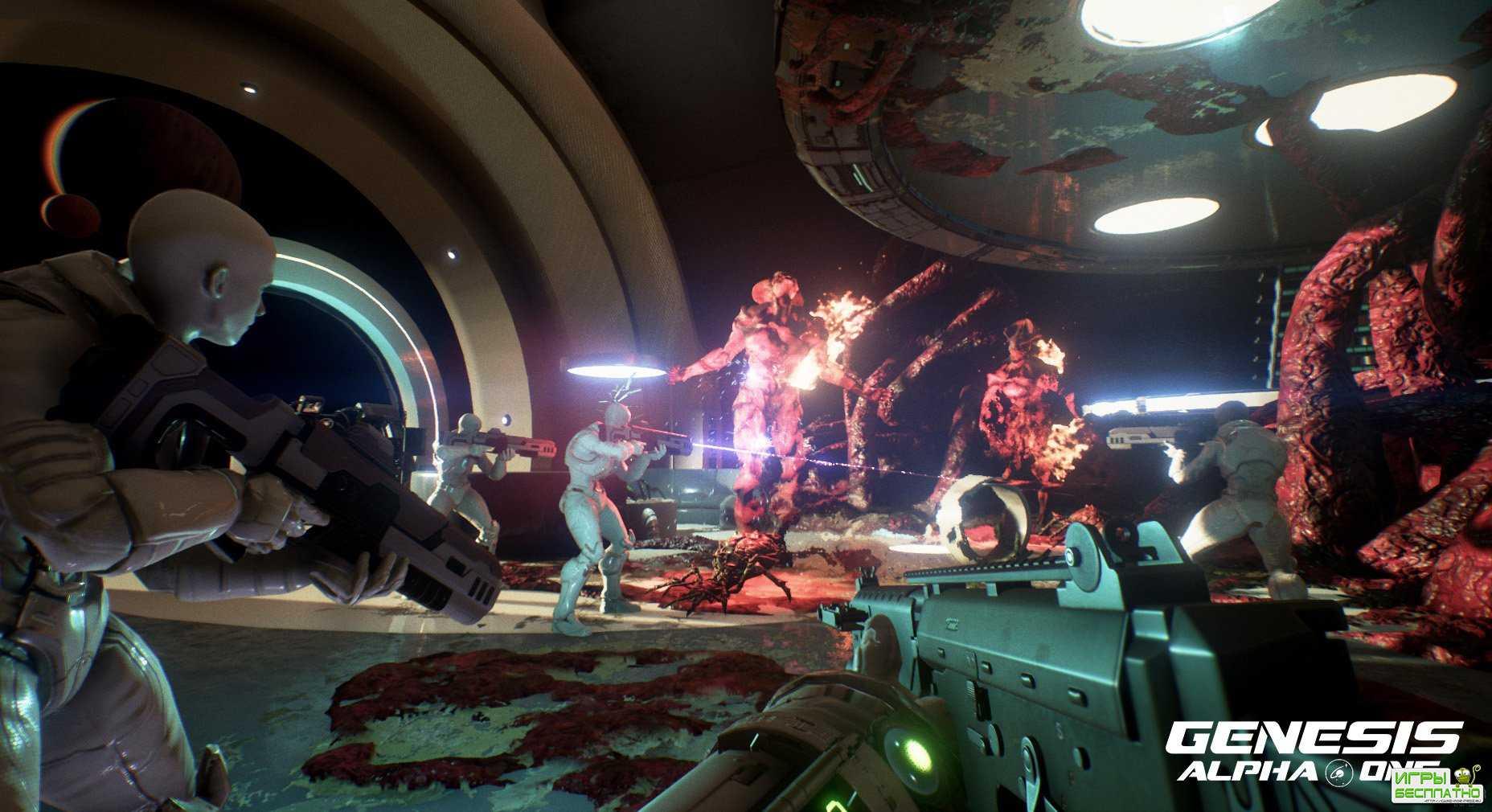 Трейлер научно-фантастического шутера Genesis: Alpha One