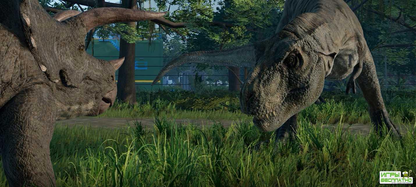 30 минут с демонстрацией игрового процесса Jurassic World Evolution