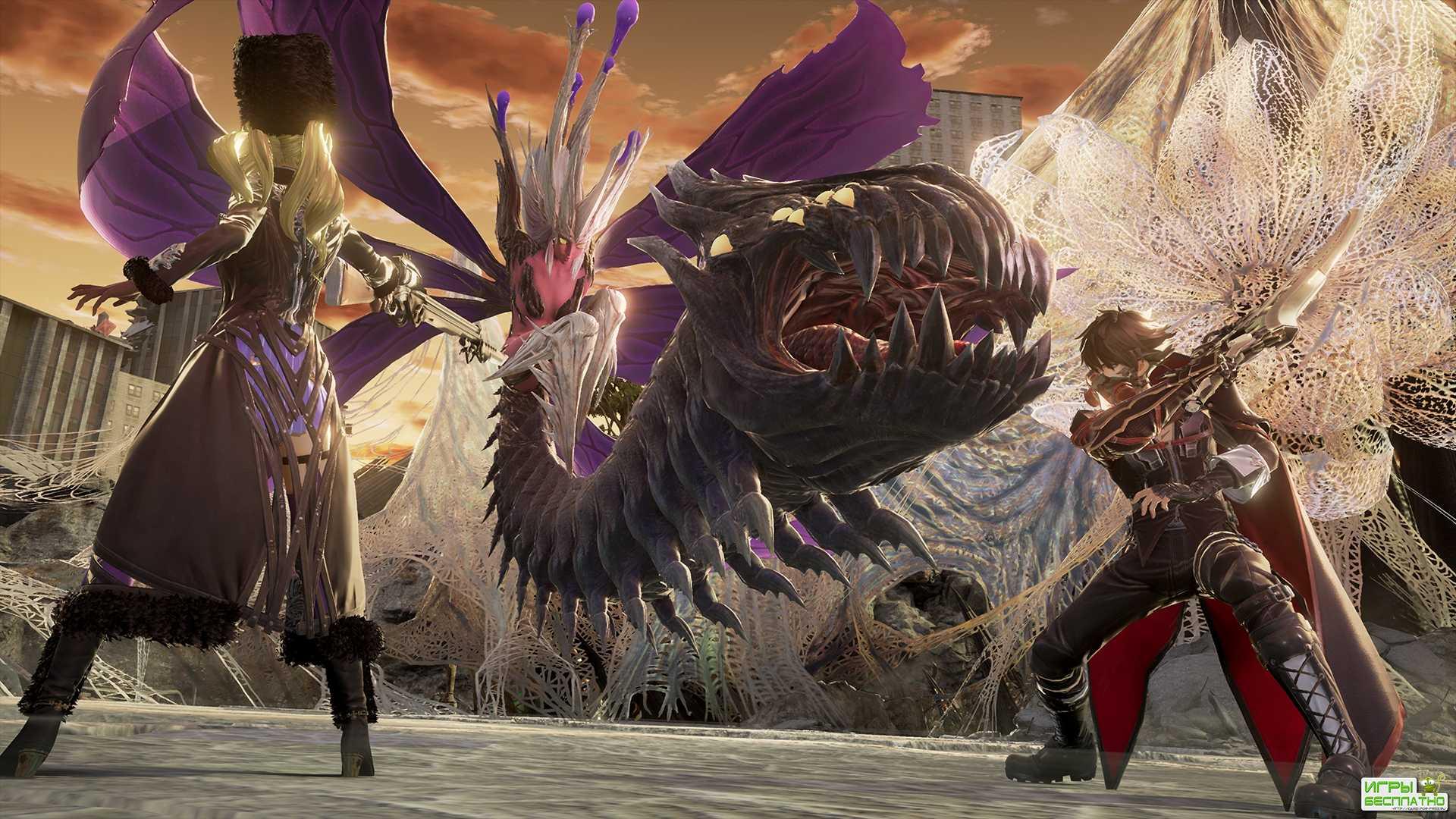 Новый геймплейный трейлер вампирской ролевой игры Code Vein