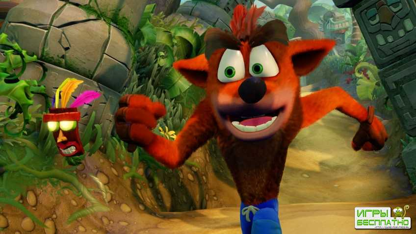 Релиз Crash Bandicoot N. Sane Trilogy на всех платформах состоится раньше