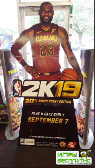 NBA 2K19 подтверждена к релизу на PlayStation 4, Xbox One, Nintendo Switch  ...