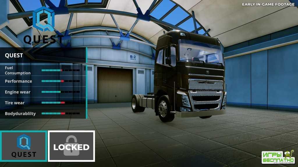 Truck Driver - анонсирован симулятор дальнобойщика для консолей и ПК