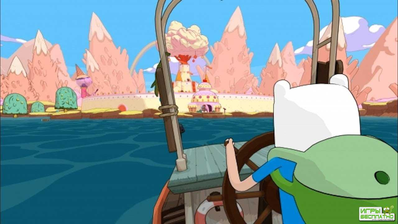 Adventure Time Pirates of the Enchiridion GamePlay PC