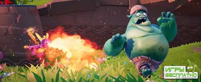 Spyro: Reignited Trilogy обзавелся свежей геймплейной демонстрацией