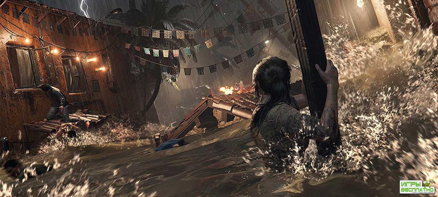 Почти 10 минут геймплея Shadow of the Tomb Raider