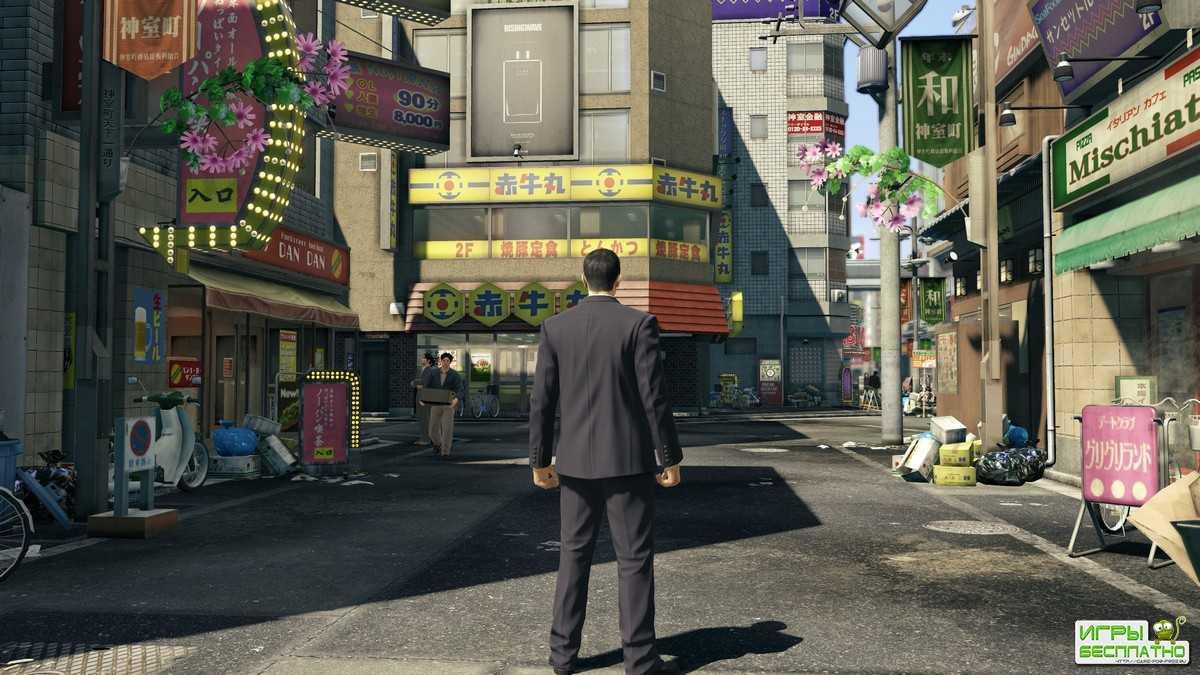Yakuza 0 - PC-версия обзавелась новыми скриншотами и геймплейными видео в 4K