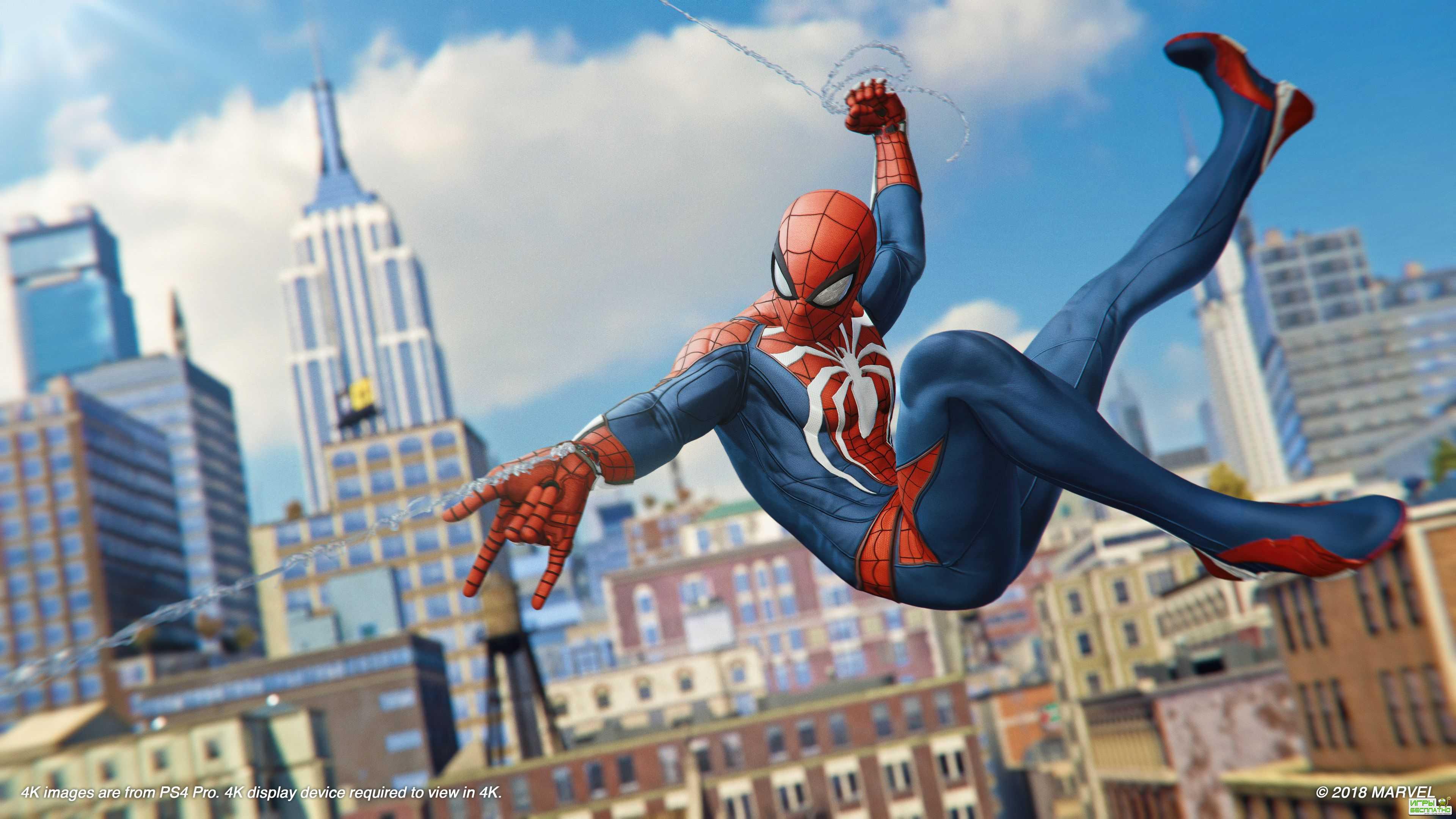 Новый геймплей Spider-Man