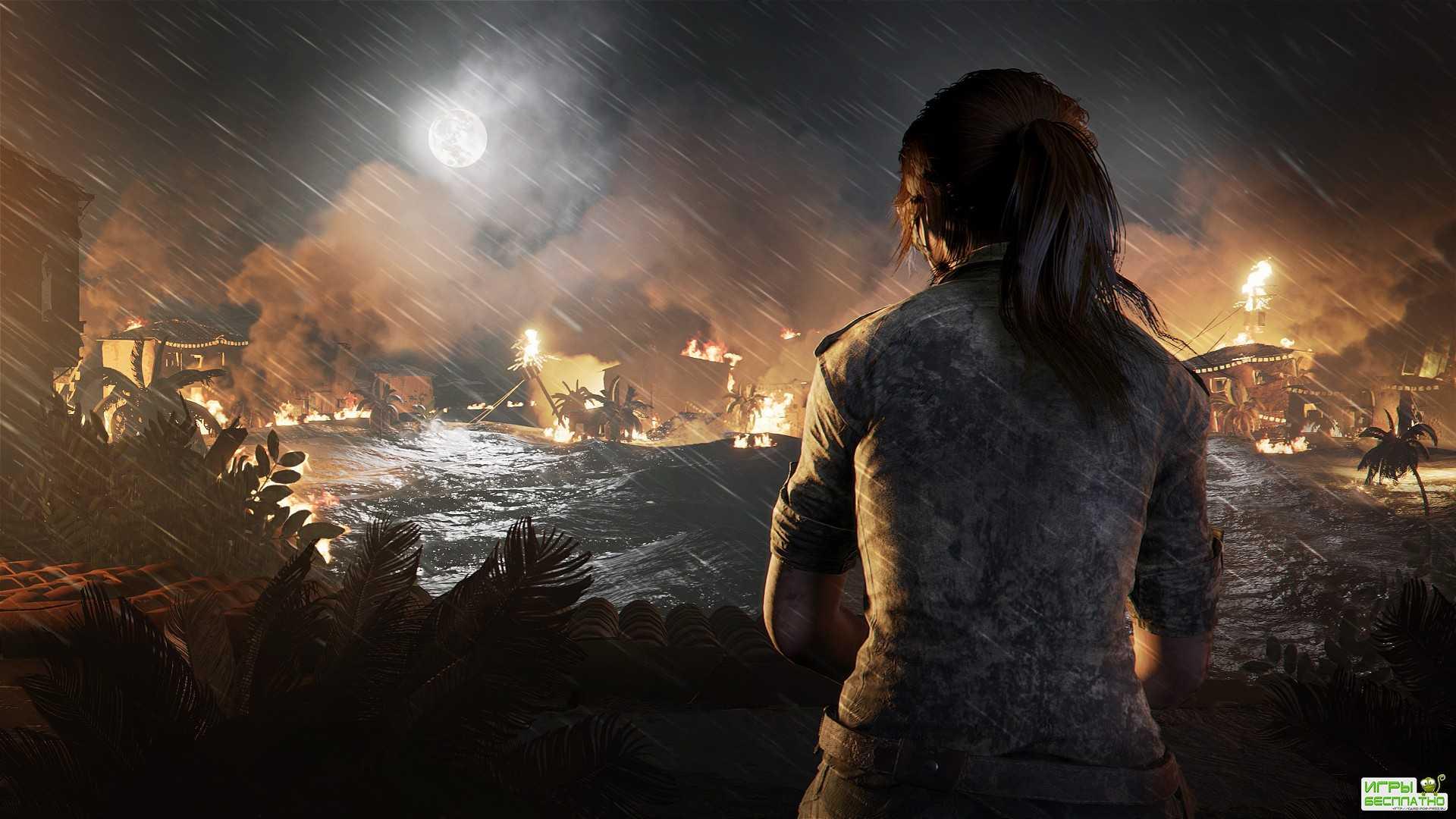 Shadow of the Tomb Raider - демонстрация смертельных гробниц