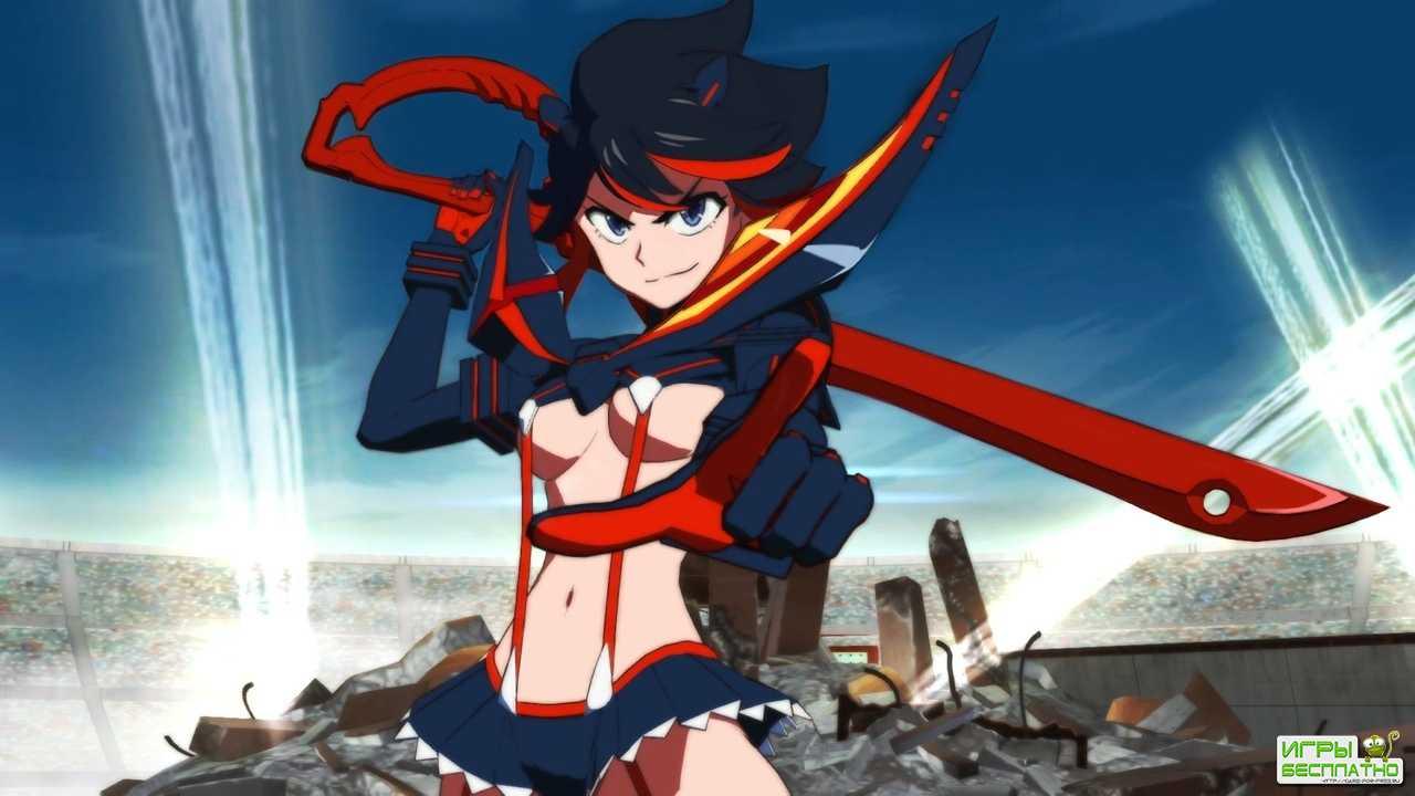 Игровой процесс аниме-файтинга Kill la Kill The Game: IF