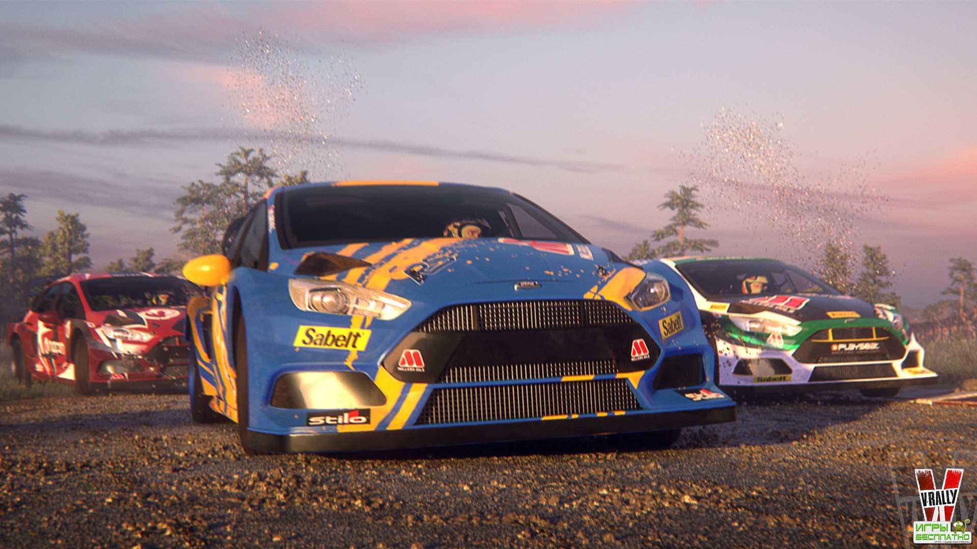 Новый геймплей гоночного симулятора V-Rally 4
