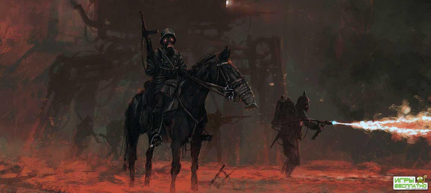 Новый геймплей дизельпанк-стратегии Iron Harvest