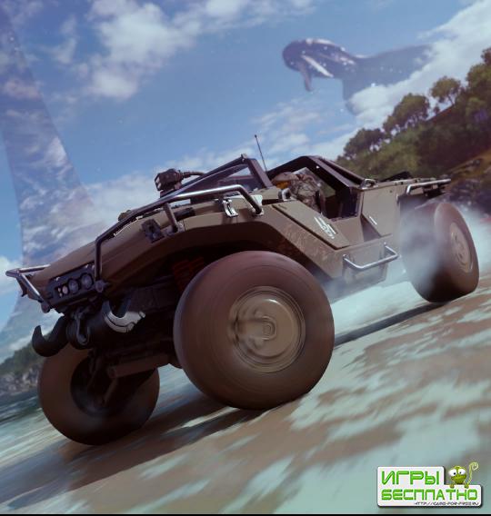 Forza Horizon 4 получит миссию с техникой и окружением из Halo