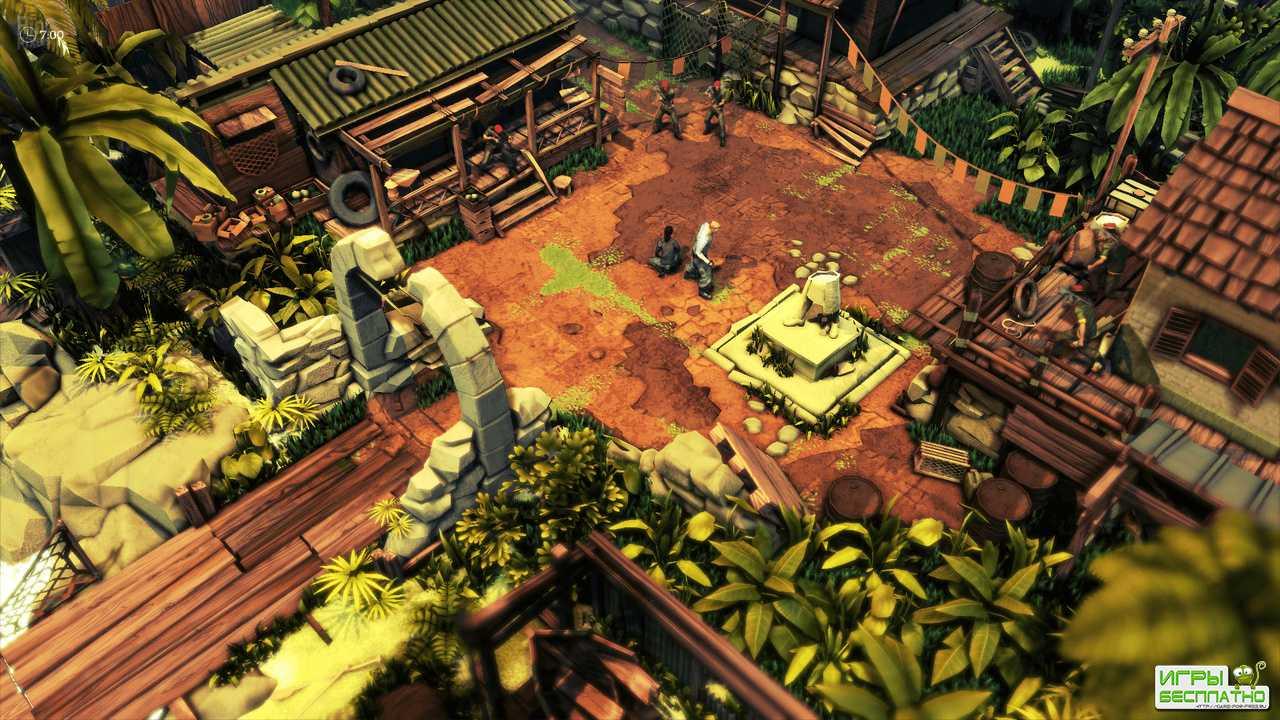 Первый трейлер и скриншоты Jagged Alliance: Rage!