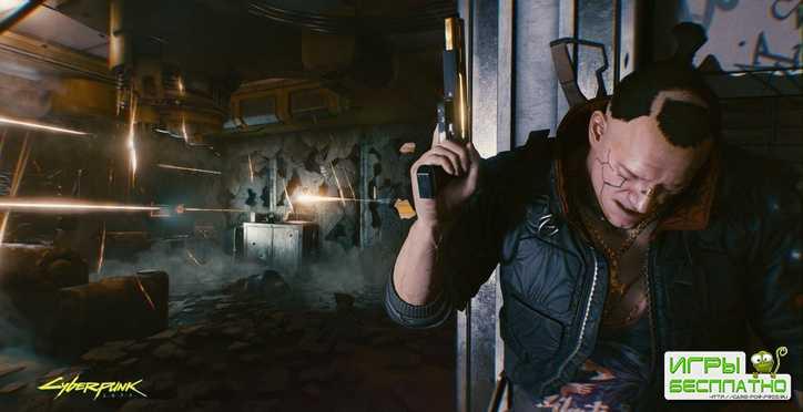 В Cyberpunk 2077 будет отличная стрельба