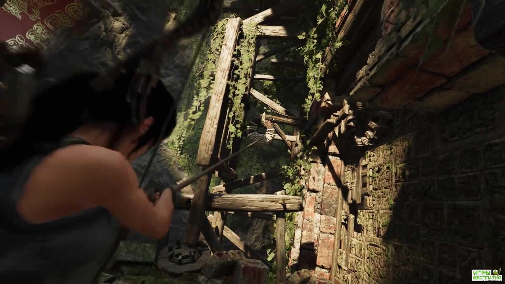 Shadow of the Tomb Raider - еще одно геймплейное видео PC-версии с трассиро ...