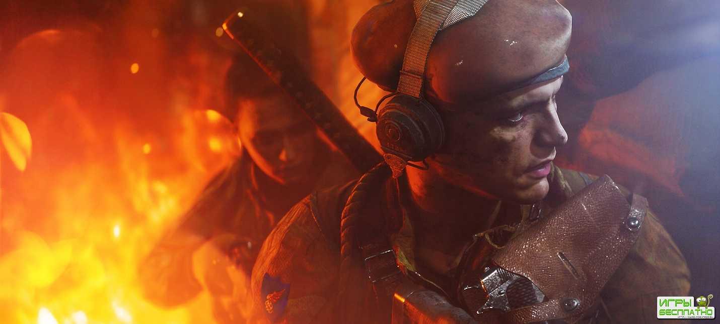 Геймплей Battlefield V с демонстрацией технологии трассировки лучей