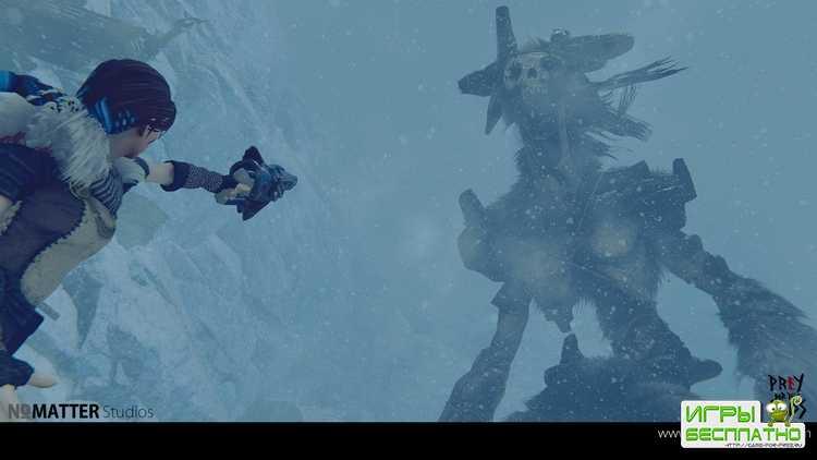 Shadow of the Colossus по-зимнему: четыре минуты геймплея Praey for the Gods для PAX West 2018