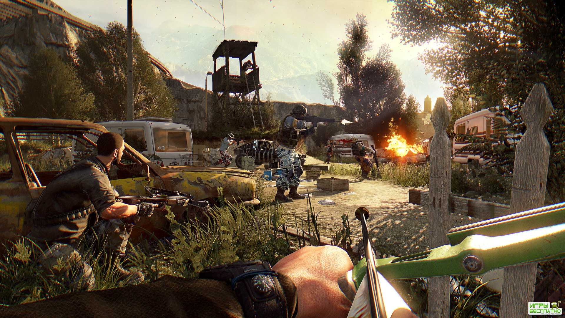 Dying Light: Bad Blood GamePlay PC