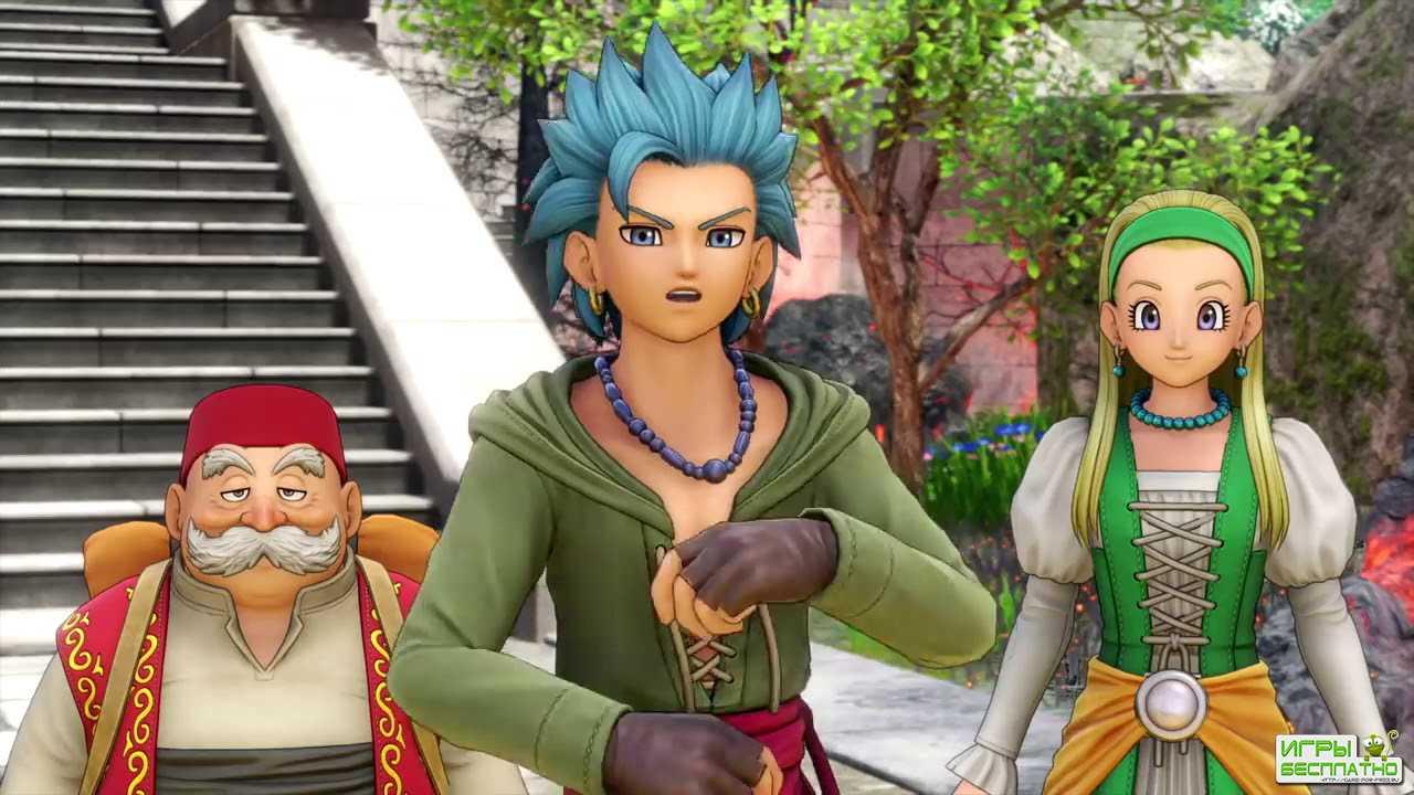 Dragon Quest XI - опубликован релизный трейлер