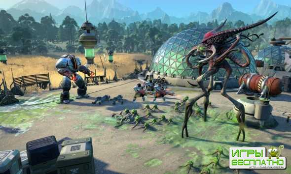 Первый геймплей Age of Wonders: Planetfall