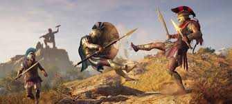 Спартанский царь Леонид в новом геймплее Assassin's Creed: Odyssey