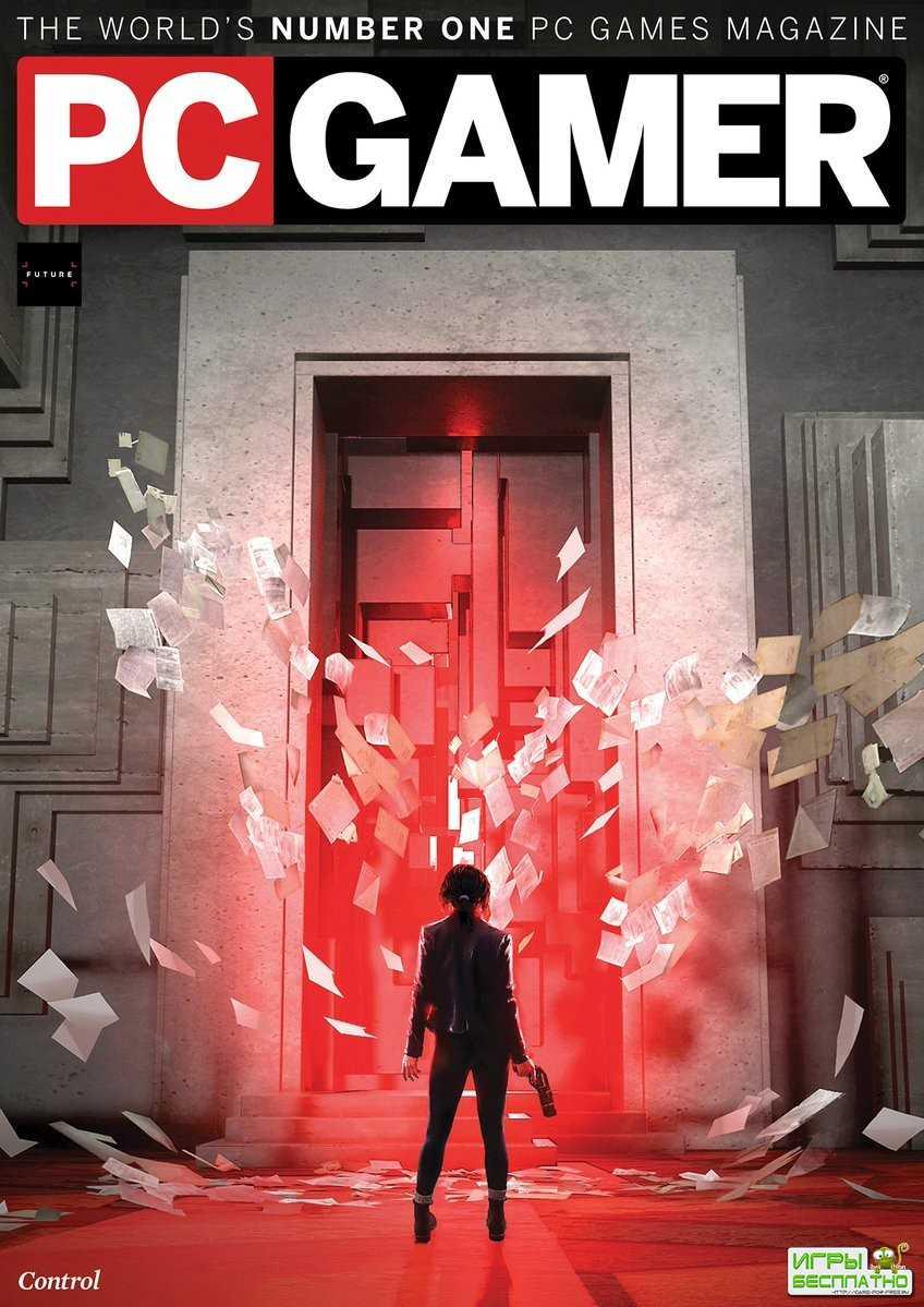 Control - новая игра Remedy украсила обложку свежего выпуска журнала PC Gam ...