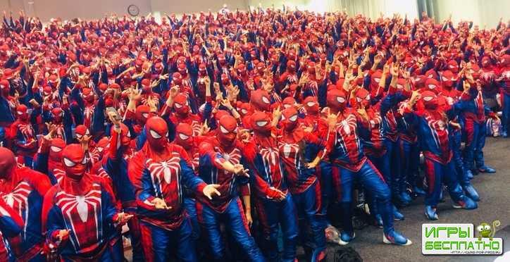 Comic-Con атаковали Люди-Пауки