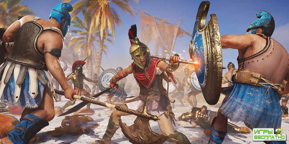 Лайв-экшен трейлер Assassin's Creed Odyssey с циклопом