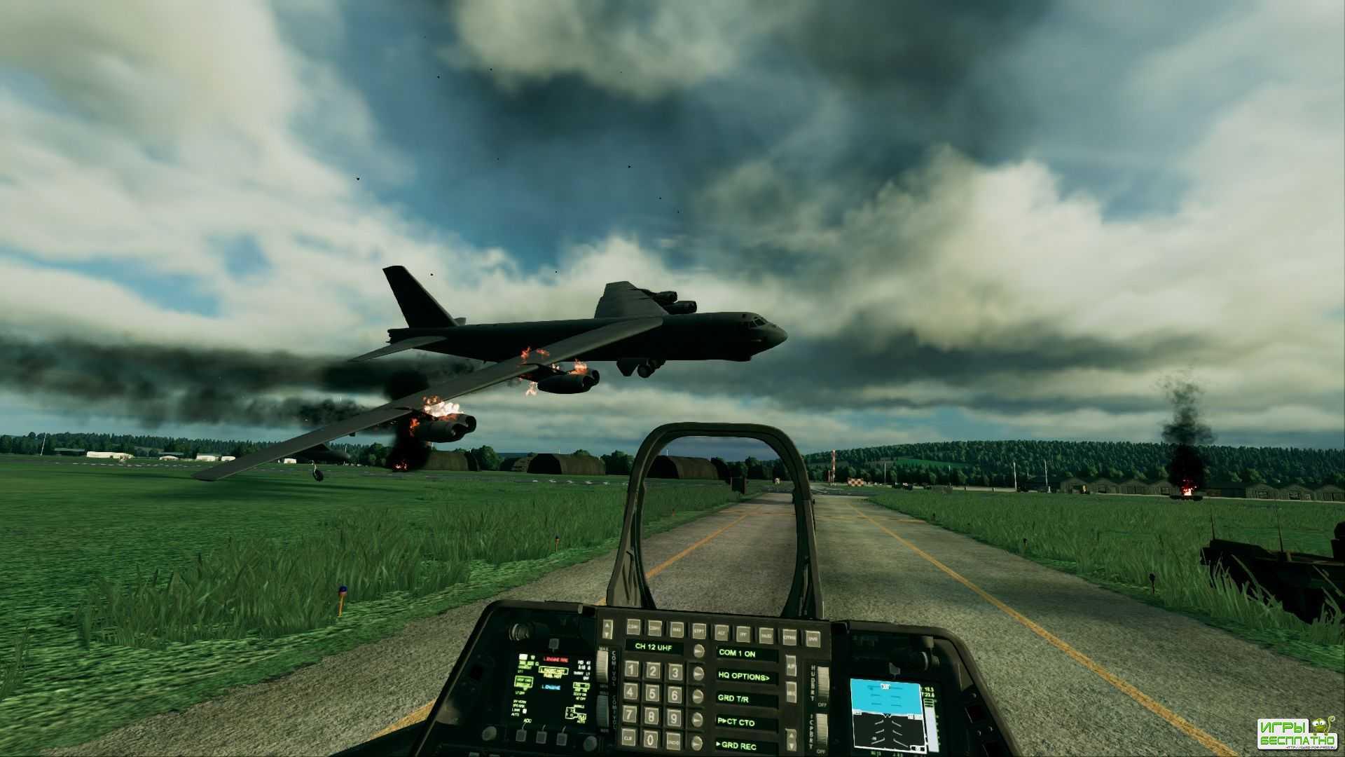 Прохождение одной из миссии в Ace Combat 7: Skies Unknown