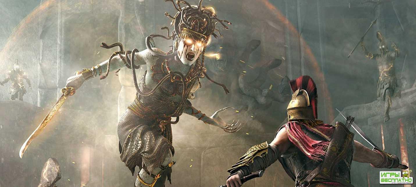 Воля богов в релизном трейлере Assassin's Creed Odyssey