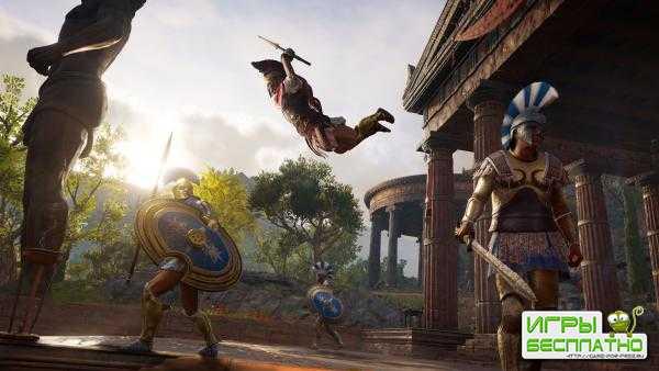В Assassin's Creed Odyssey можно погибнуть от обычного жителя