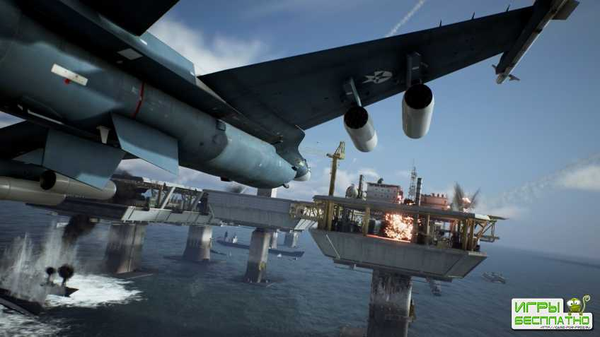 Ace Combat 7: Skies Unknown - опубликована демонстрация прохождения двух миссий кампании