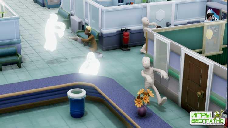 Комедийный симулятор управления больницей Two Point Hospital получит режим  ...