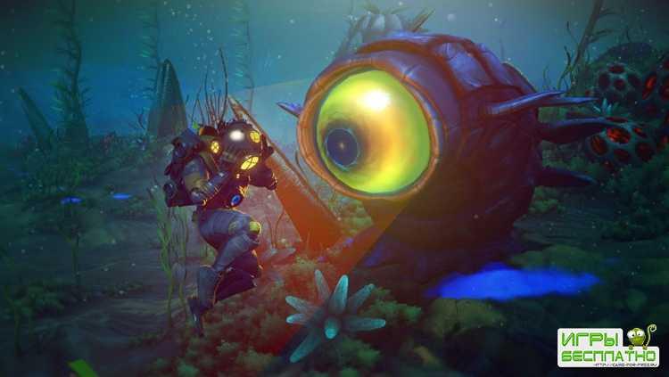 No Man's Sky получила крупное обновление, посвящённое подводным исследованиям