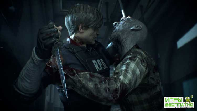 11 минут нового геймплея ремейка Resident Evil 2