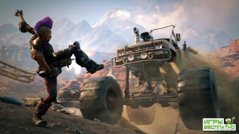 В новом геймплее Rage 2 показали способности главного героя